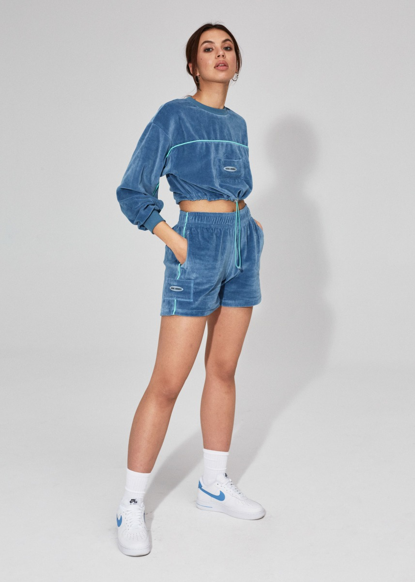 Local Heroes Velour Shorts