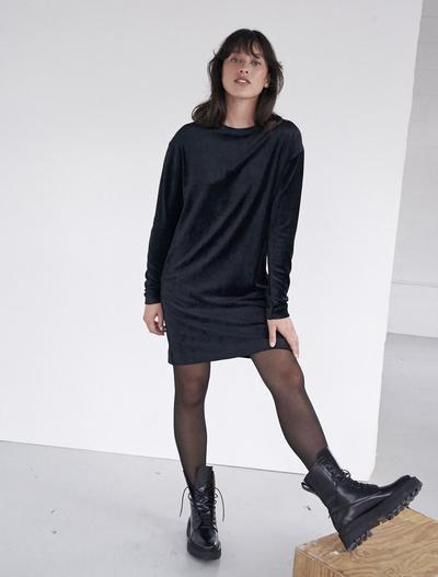 Ninety Percent Velour Dress