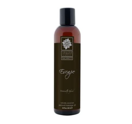sliquid escape massage oil