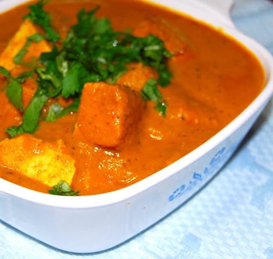 tofu makhani curry