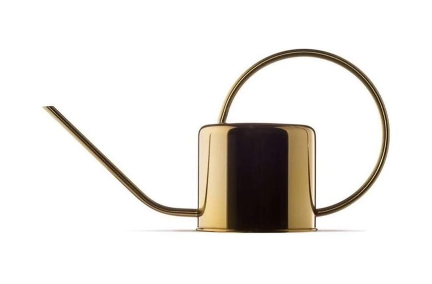 Homier Vintage Metal Watering Pot With Long Spout