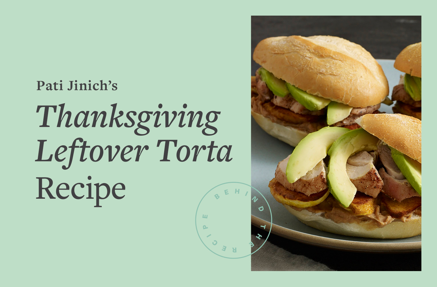 Thumbnail for The Easy Leftover Thanksgiving Turkey Dish Pati Jinich Looks Forward to Every Year