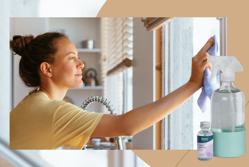 5 Eco-Friendly Cleaning Products With Reusable Glass Bottles