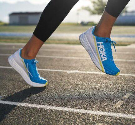 running shoe technology