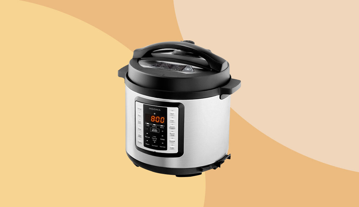 Thumbnail for This Instant Pot Dupe Has 4,000 5-Star Reviews—And Is 50% Off Right Now