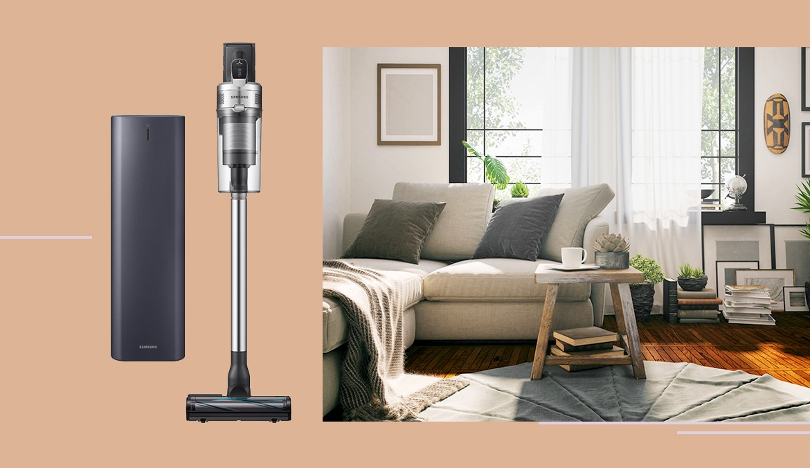 Thumbnail for This Sleek Self-Emptying Stick Vacuum Is $250 Off Right Now