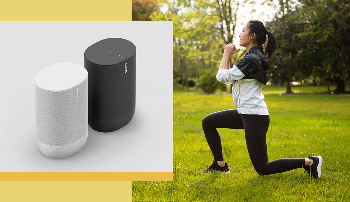 This Never-on-Sale Sonos Speaker Is the At-Home Workout Sound Equivalent of AirPods