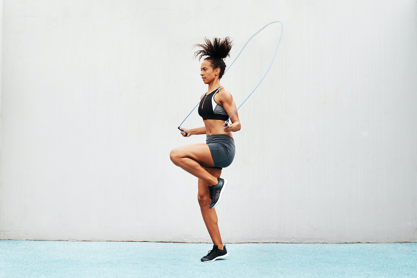 Thumbnail for Jump Rope Vs. Running: Which One Will Give You a Better Workout?