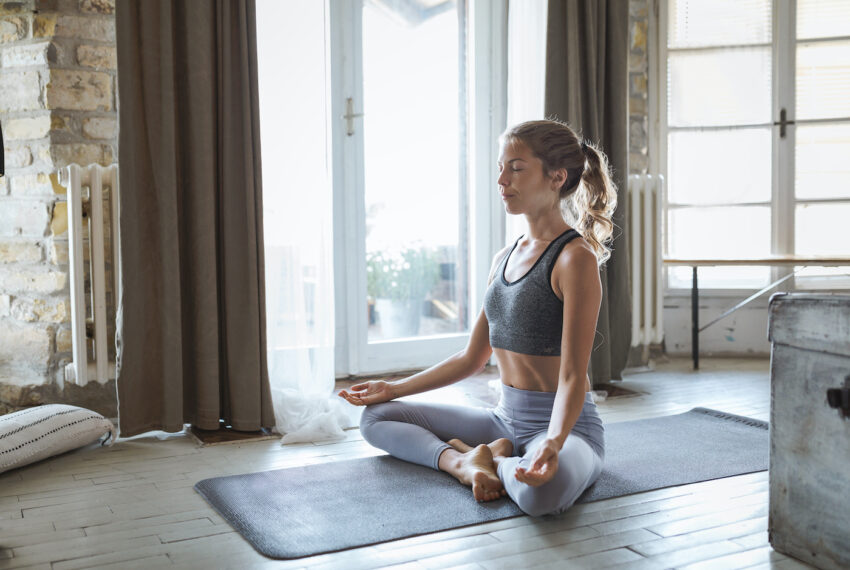 5 Yoga Flows Designed to Help Ease the Stress and Anxiety That Is 2020