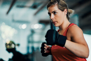 Relieve Major Stress (and Feel Like a Badass) With These 4 Punching Bag Workout Moves