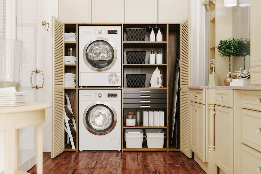 10 Laundry Room Organization Tips To Make Your Space Look as Clean as Your Linens