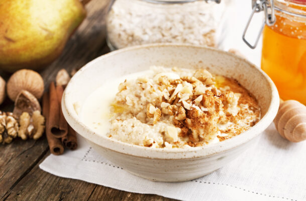 This Delicious Recipe Turns Leftover Sweet Potatoes Into a Fiber-Packed Oatmeal in Minutes