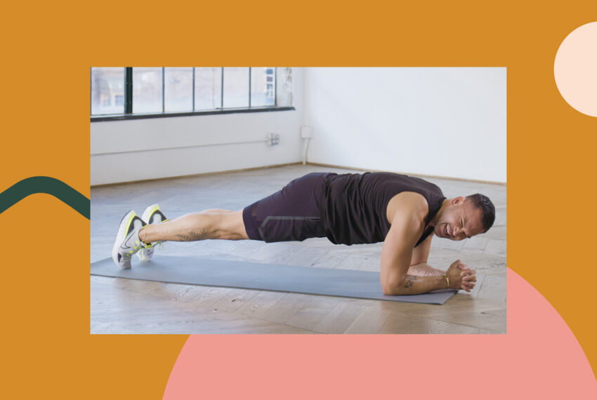This 10-Minute, 10-Move Lower Ab Workout Is the Easiest Thing You'll Do All Day