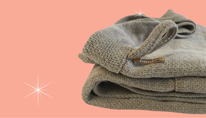 Linoto Heavy Weight Linen Spa Bath Sheet
