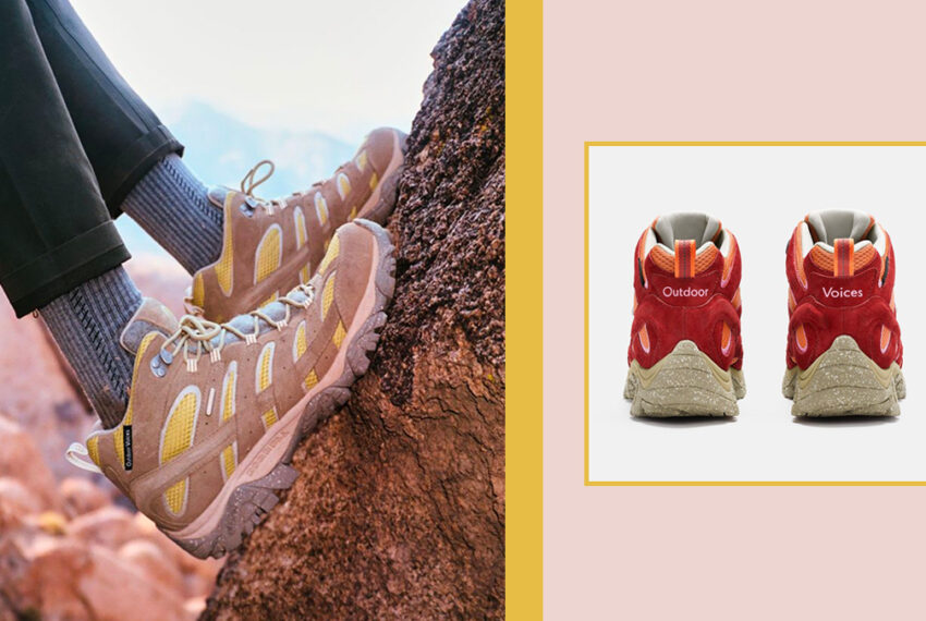 Our Two Favorite Outdoor Brands Have Teamed Up for a New Eco-Friendly Hiking Boot