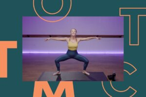 This 15-Minute Lower Body Barre Workout Will Leave Your Leg Muscles Screaming (for More)