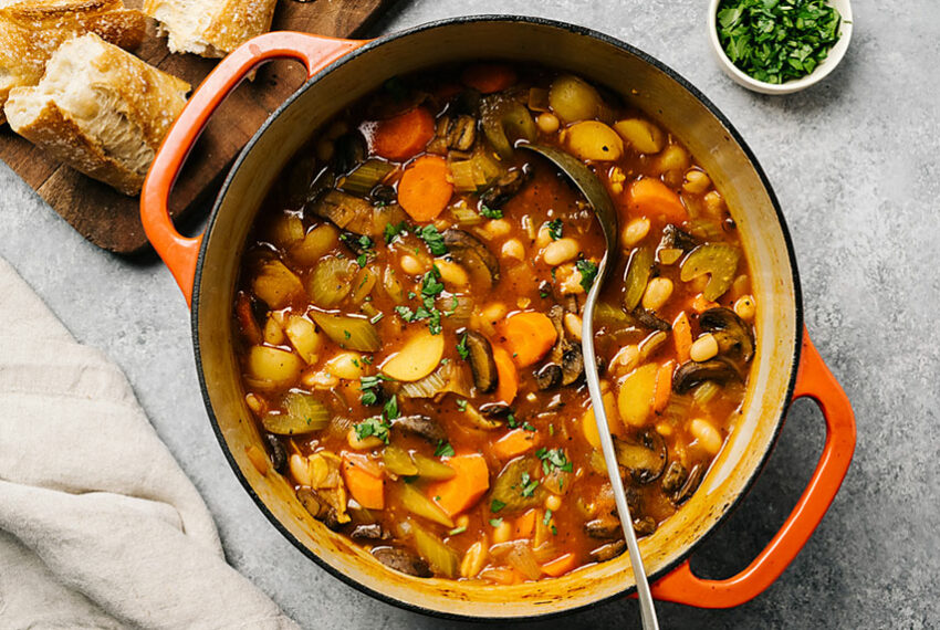 9 Hearty High-Protein Vegetarian Stew Recipes To Make This Winter