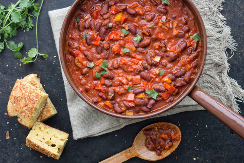 8 Healthy High-Protein Vegetarian Chili Recipes To Make This Winter