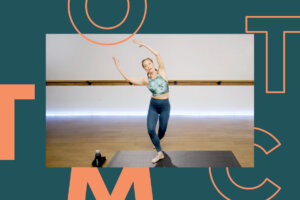 This 10-Minute Barre Class Doubles as an Abs-Strengthener and Tension Reliever