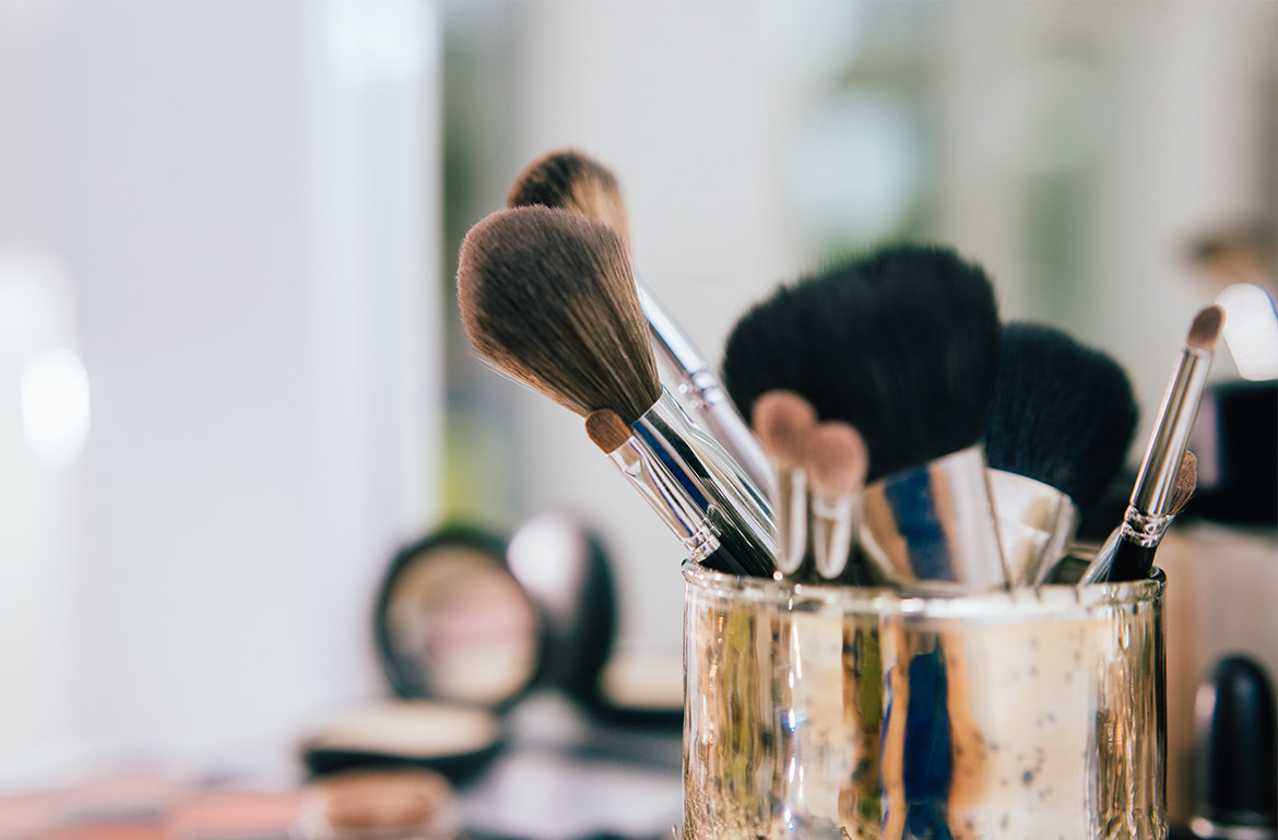 Thumbnail for 5 Tools and Cleansers That Make Cleaning Makeup Brushes So Much Easier—and One Costs $3