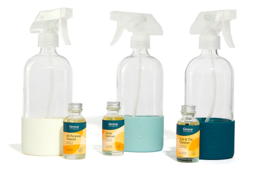 Grove Collaborative Cleaning Concentrate Essentials 3-Pack