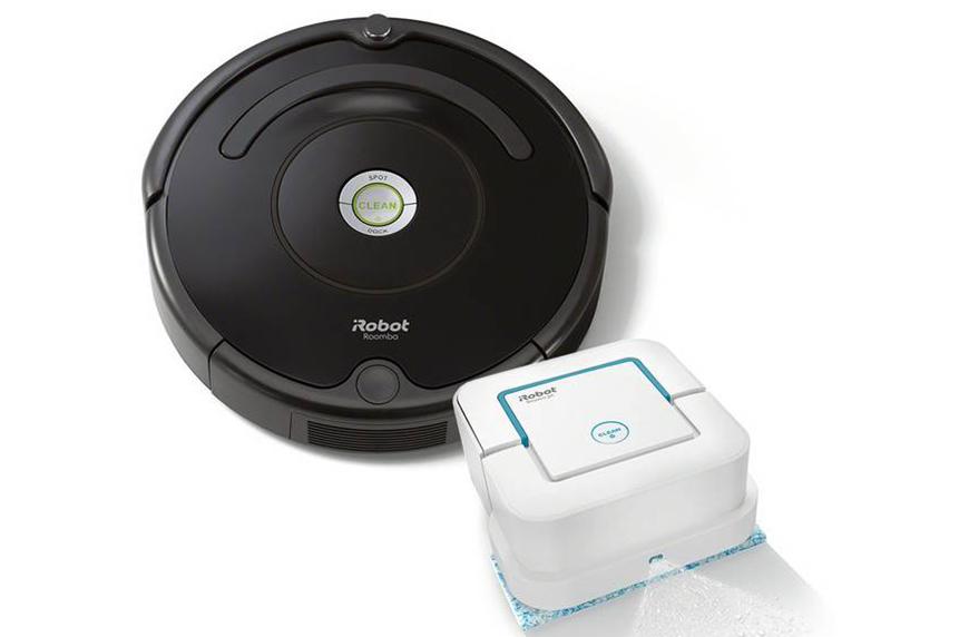 iRobot Roomba 675 Robot Vacuum and Braava jet 240 Robot Mop Bundle