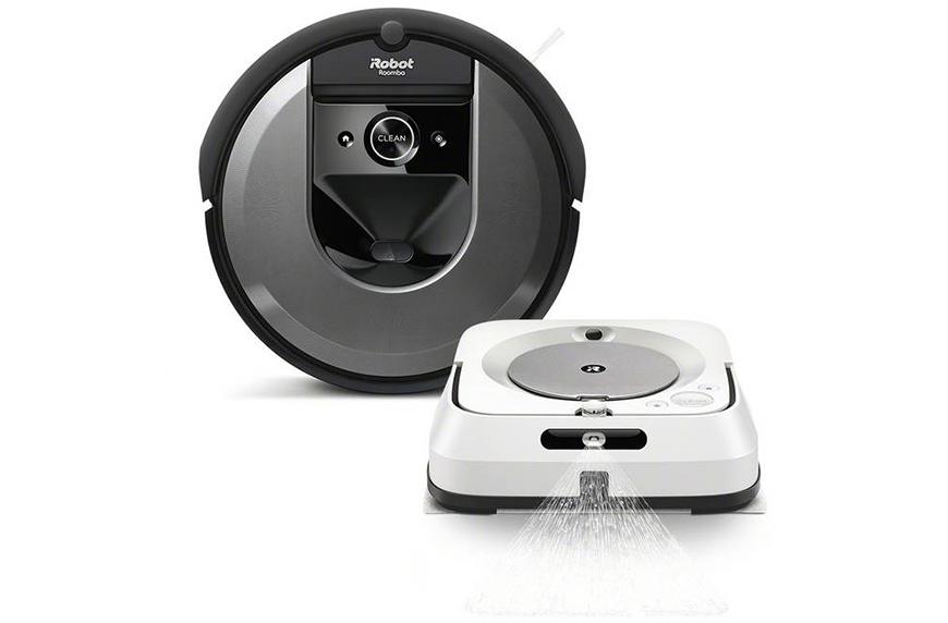 iRobot Roomba i7 Robot Vacuum and Braava jet m6 Robot Mop Bundle