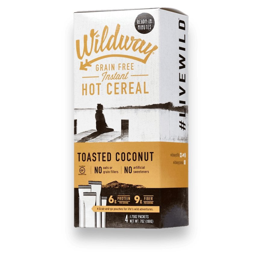 wildway cereal toasted coconut