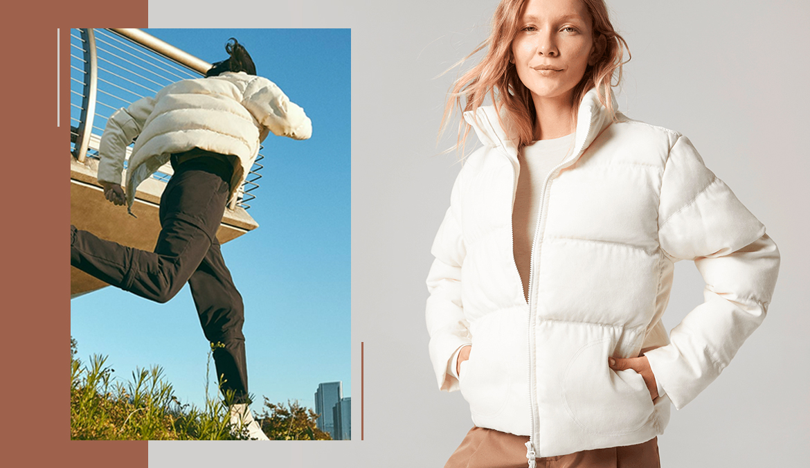 Thumbnail for This Allbirds Puffer Coat Is the Warm Hug You Need in the Dead of Winter
