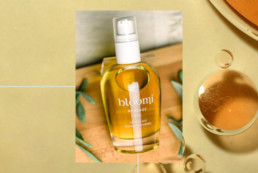 Bloomi's CBD Aphrodisiac Massage Oil Proves Relaxation and Arousal Can Go Hand-in-Hand