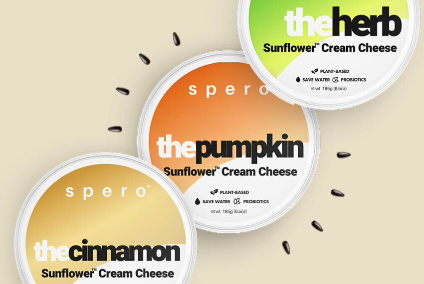 This Plant-Based Cream Cheese Uses Sunflower Seeds To Make the Perfect Vegan Schmear