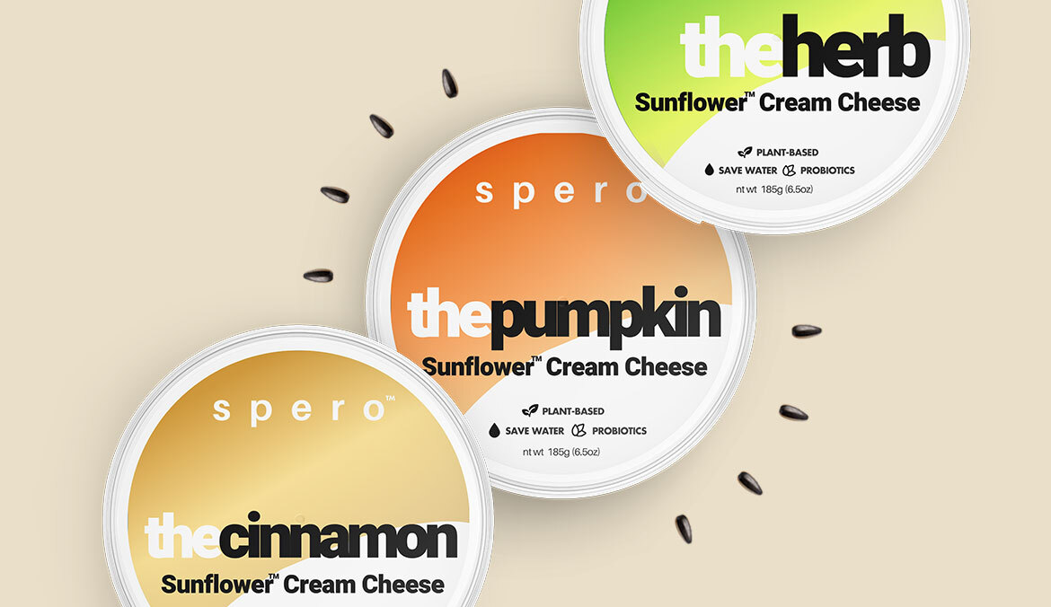 Thumbnail for This Plant-Based Cream Cheese Uses Sunflower Seeds To Make the Perfect Vegan Schmear