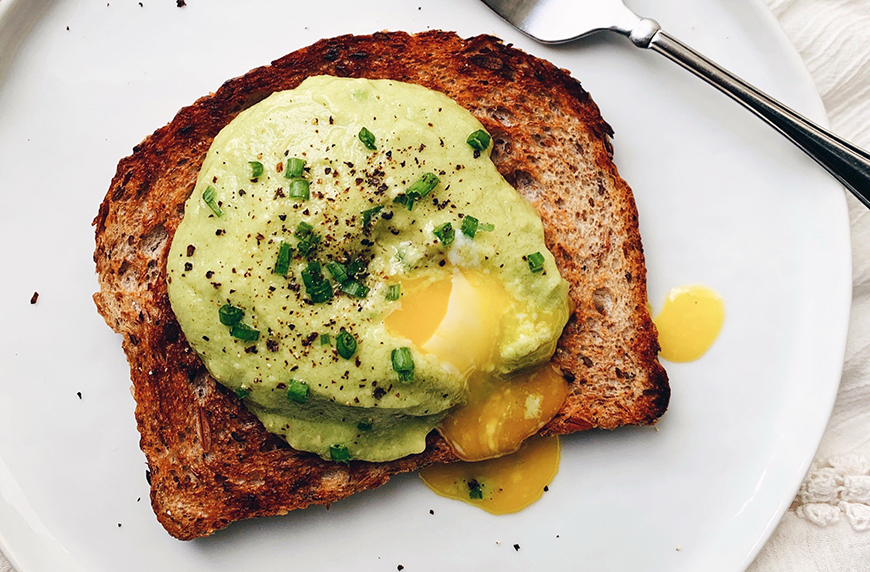 Thumbnail for This Healthy Avocado 'Hollandaise' Sauce Is Exactly What's Missing From Your Brunch