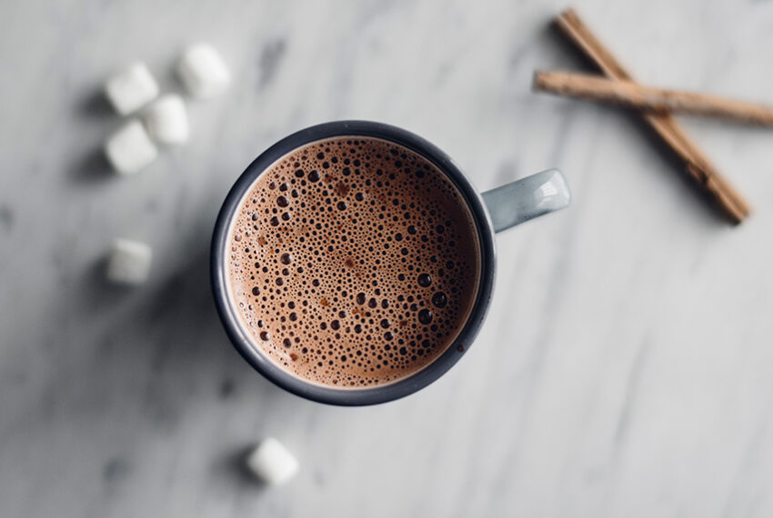Avocado Is the Secret Ingredient in This Delicious Plant-Based Hot Chocolate
