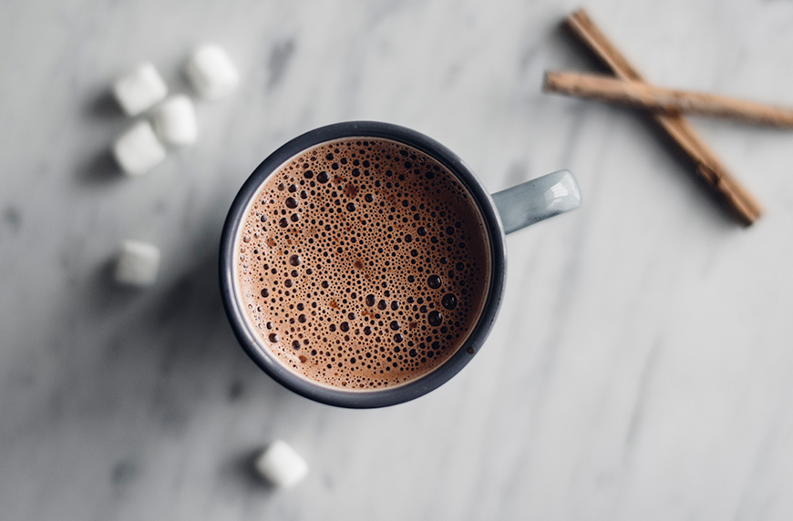 Thumbnail for Avocado Is the Secret Ingredient in This Delicious Plant-Based Hot Chocolate