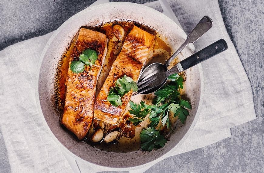 Getty Images Claudia Totir fish dinner