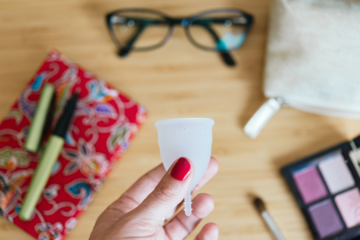 Thumbnail for 4 Menstrual Cup Benefits That May Make You Ditch Pads and Tampons for Good