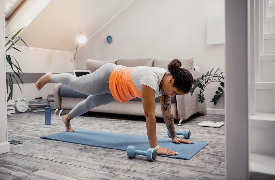 Thumbnail for Any Good Burpee Workout Requires Other Moves, Too—Just Ask Nike Master Trainer Kirsty Godso
