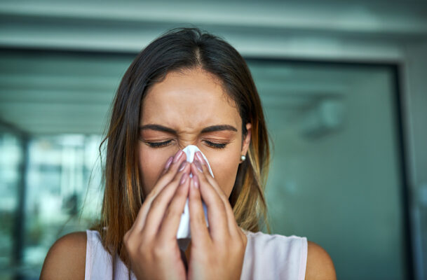 How To Blow Your Nose the Right Way (Because You're Definitely Overdoing It)