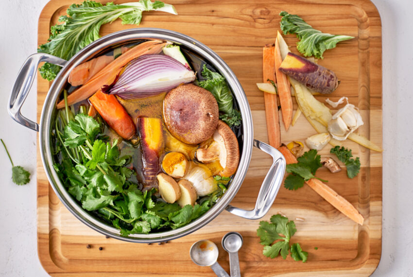 4 Mistakes That'll Make Your Homemade Vegetable Stock Bitter and Bland