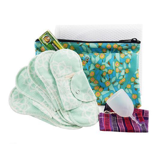 glad rags xo flo menstrual cup kit