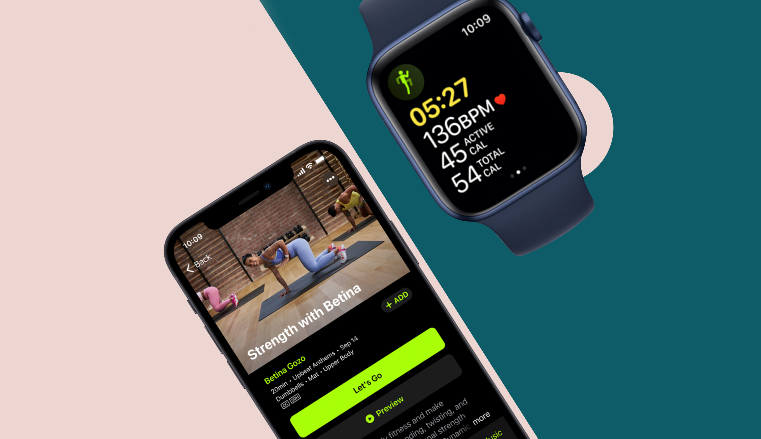 Thumbnail for I Tried Apple Fitness+ and It's So Much Fun That From Here On Out, I'll Always Close My Rings