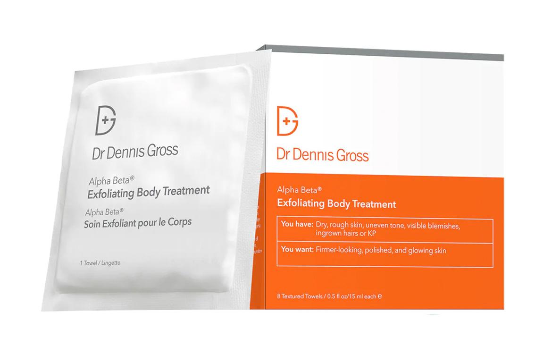 Dr. Dennis Gross Skin Care Alpha Beta Exfoliating Body Treatment Body Peel Pads