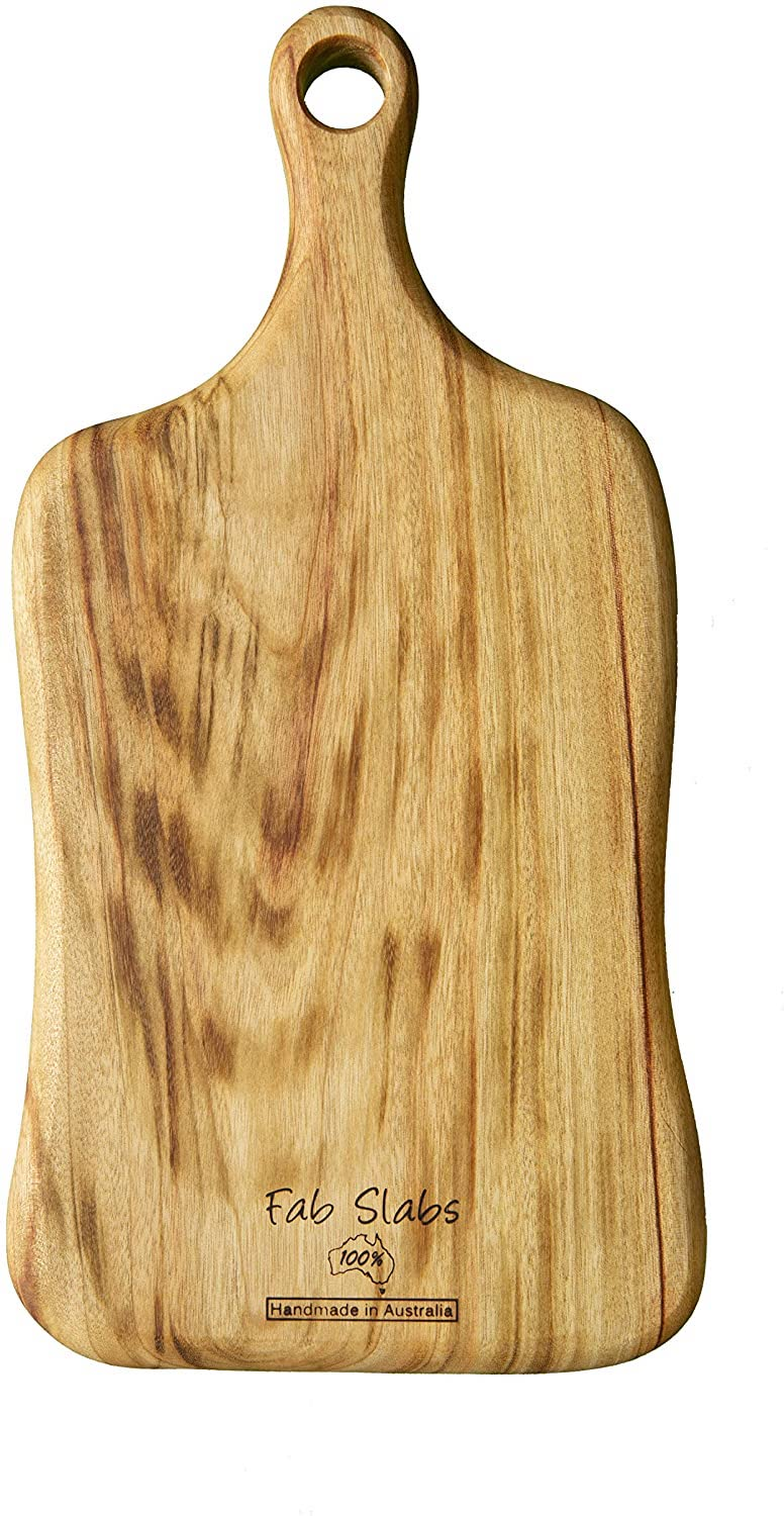 fab slabs paddle cheese and charcuterie board