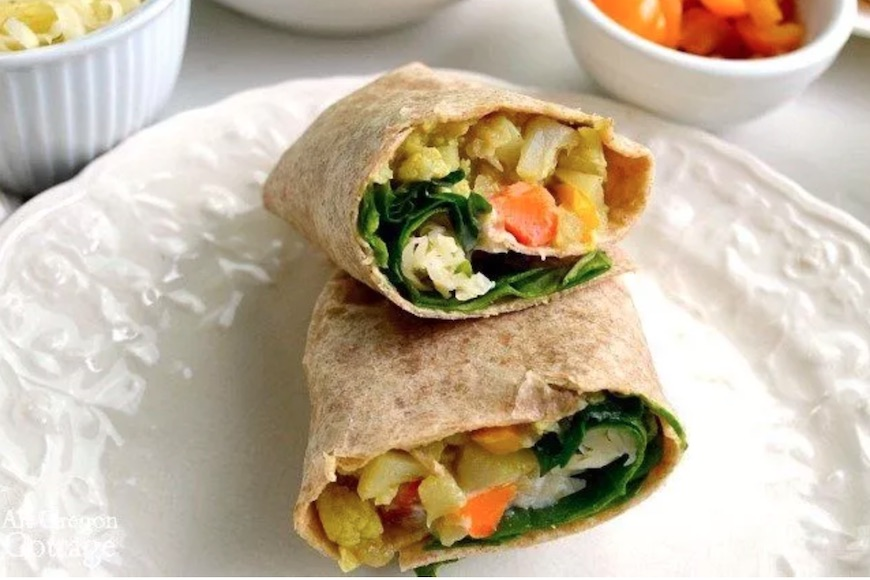 curry wrap