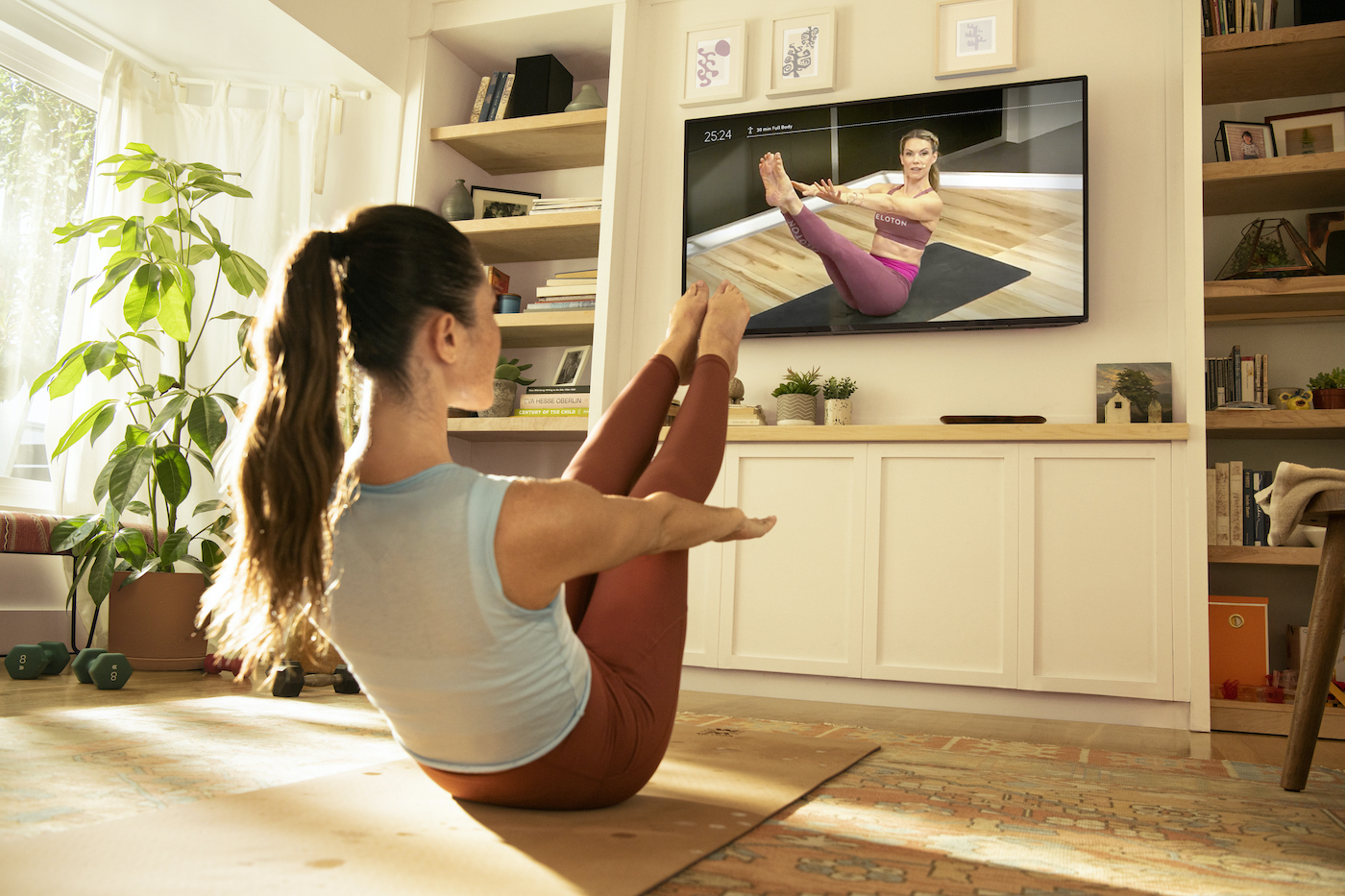 Thumbnail for Peloton Just Launched One of Its Most-Requested Modality: Pilates