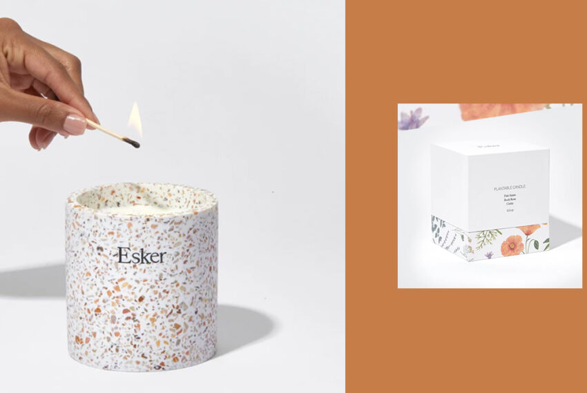 Get Three Lives Out of This Candle That Turns Into an Herb Planter