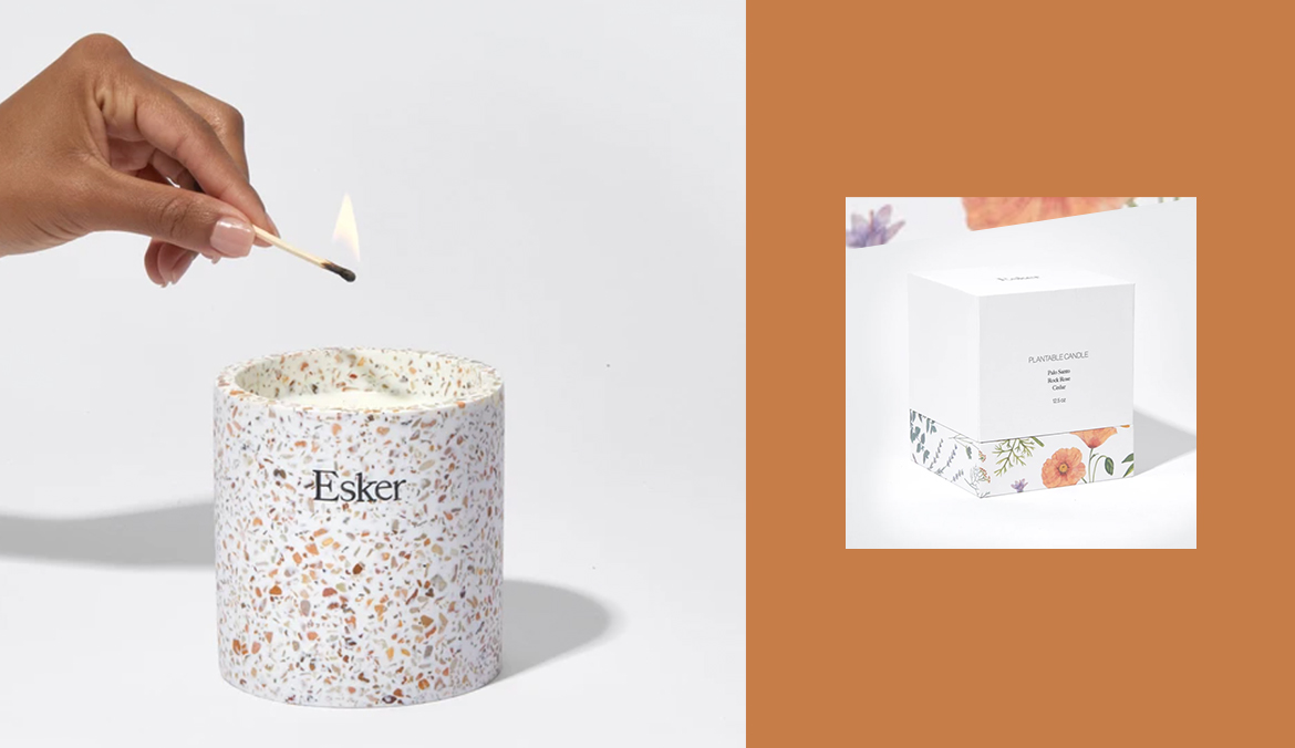 Thumbnail for Get Three Lives Out of This Candle That Turns Into an Herb Planter