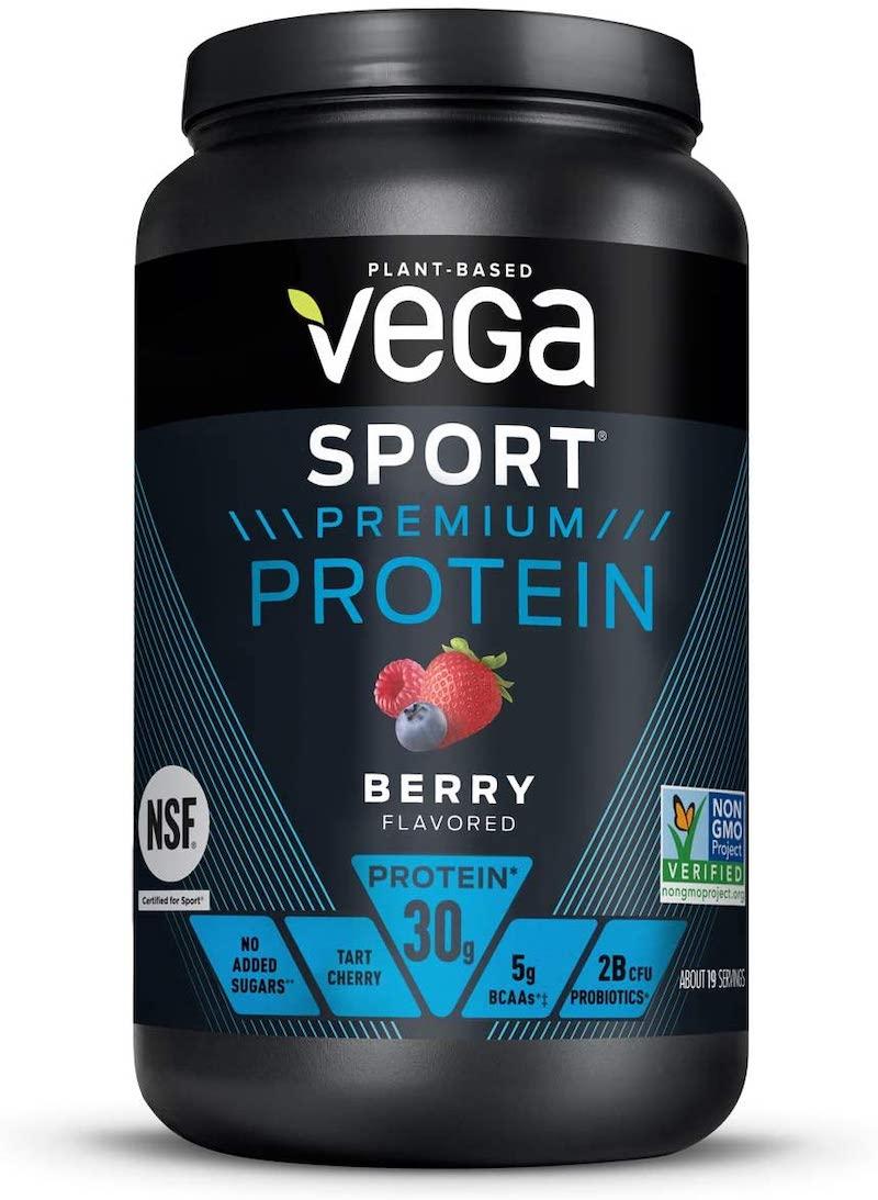vega sport protein berry