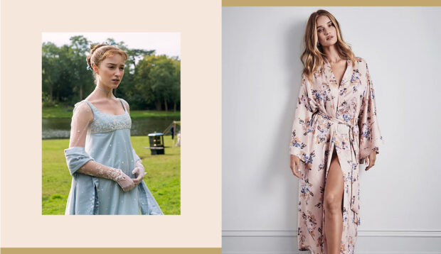 9 Pieces of 'Bridgerton'-Inspired Loungewear To Feel High Society Without Leaving Home All Winter
